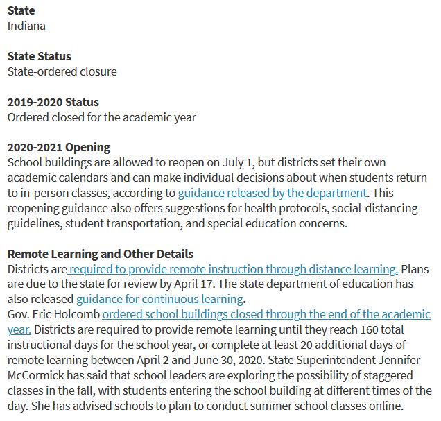 School Closures Information
