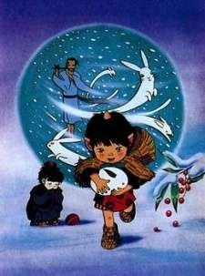 Oni no Ko to Yuki Usagi's Cover Image