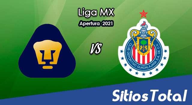 Pumas vs Chivas en Vivo – Canal de TV, Fecha, Horario, MxM, Resultado – J8 de Apertura 2021 de la Liga MX