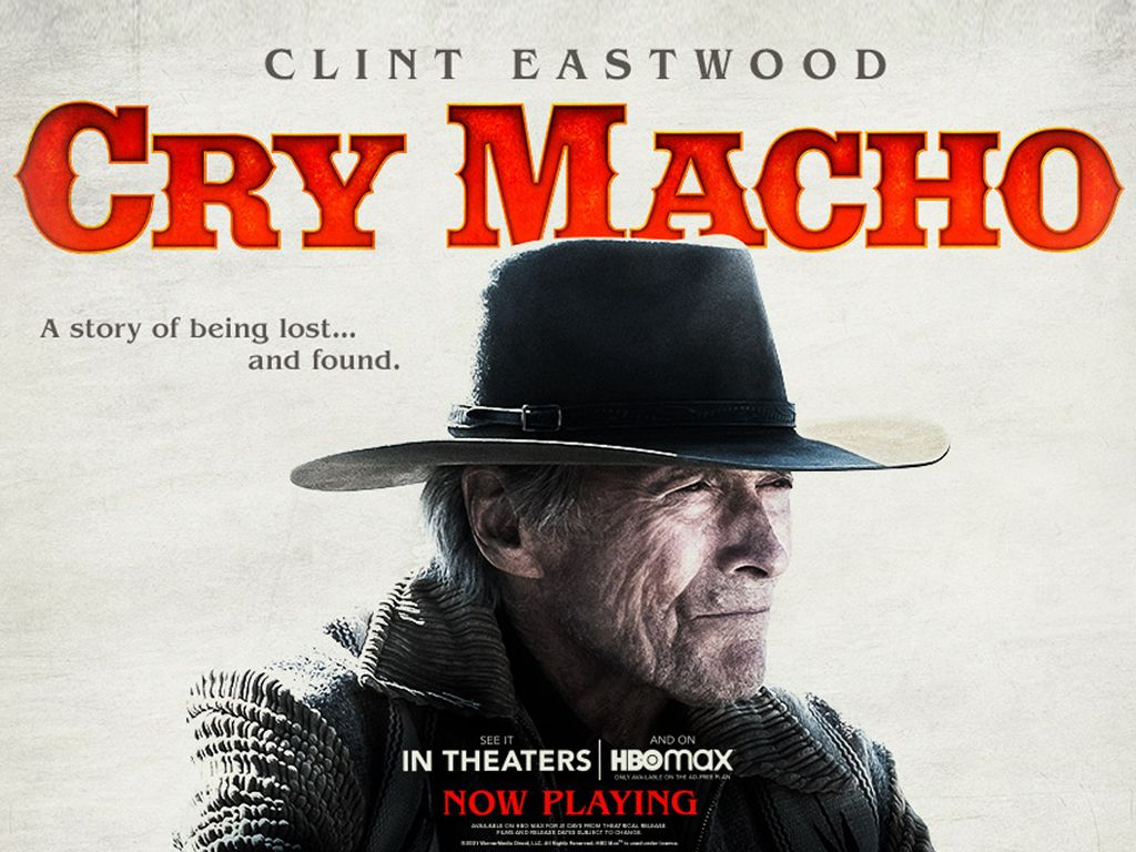 Cry Macho Quad Poster