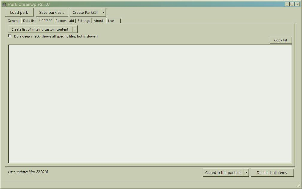 Image 03, HowTo's: How To Use Park CleanUp, Page 1