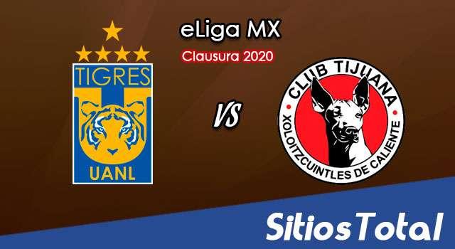 Tigres vs Xolos Tijuana en Vivo – eLiga MX – Lunes 1 de Junio del 2020