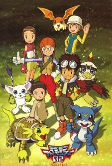 Digimon Adventure 02's Cover Image