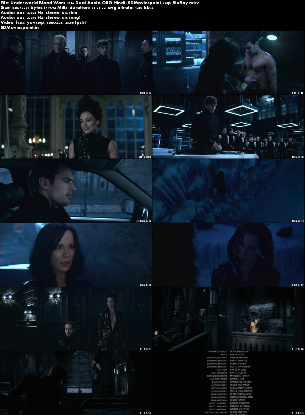Screen Shots Underworld Blood Wars (2016) Full English Movie Download 720p