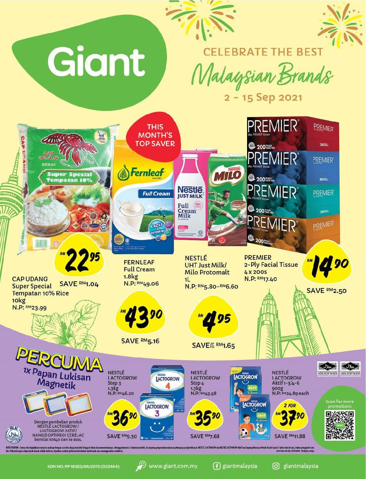 Giant Catalogue (2 September 2021 - 15 September 2021)