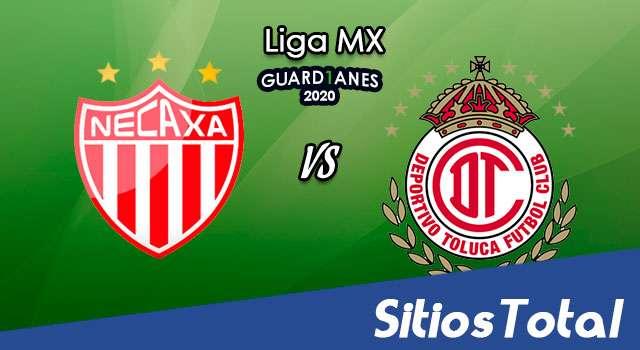 Necaxa vs Toluca en Vivo – Liga MX – Guardianes 2020 – Viernes 30 de Octubre del 2020
