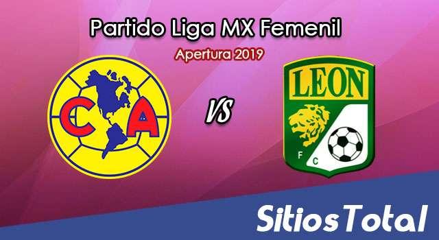 Ver América vs León en Vivo – Liga MX Femenil – Apertura 2019 – Jueves 19 de Septiembre del 2019