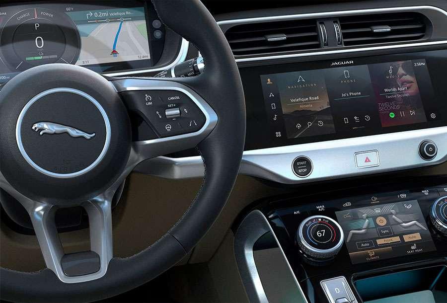 Jaguar I-PACE Technology