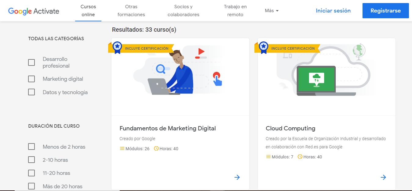 Cursos Gratuitos Con Certificacion De Google Para Sacar Durante La Cuarentena Diario La Prensa