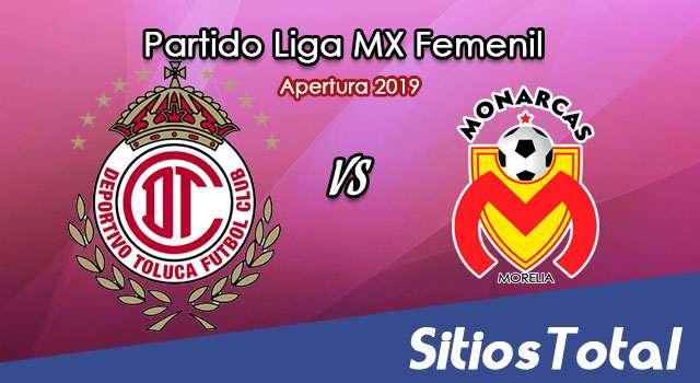 Ver Toluca vs Monarcas Morelia en Vivo – Liga MX Femenil – Apertura 2019 – Lunes 22 de Julio del 2019