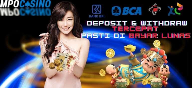 MPOCasino Deposit & Withdraw Tercepat