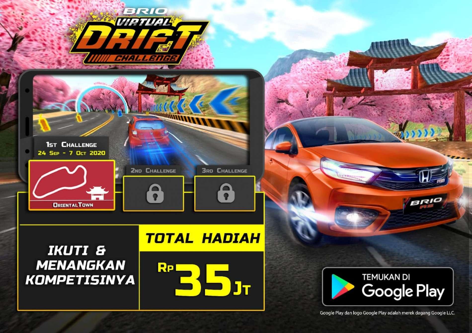Brio Drift Challenge - Sales honda Mobil
