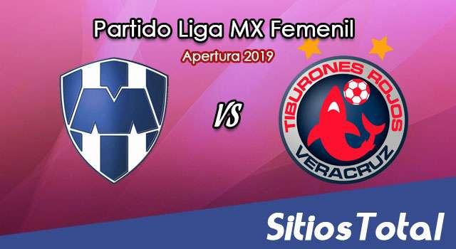Ver Monterrey vs Veracruz en Vivo – Liga MX Femenil – Apertura 2019 – Viernes 13 de Septiembre del 2019