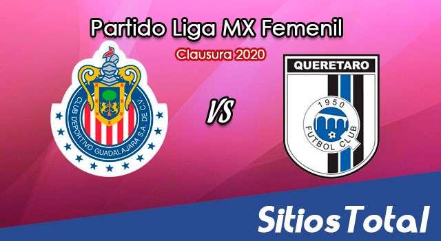 Ver Chivas vs Querétaro en Vivo – Liga MX Femenil – Guardianes – Lunes 28 de Septiembre del 2020