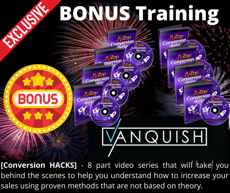 vanquish bonus 5