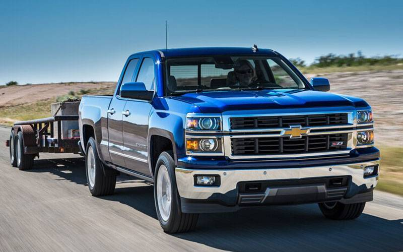 Chevrolet Silverado Z71 Towing