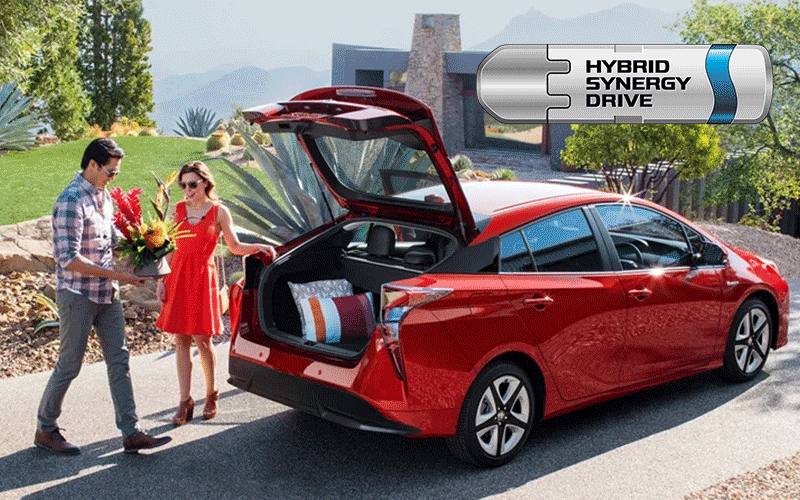 2019 Toyota Prius with Toyota Hybrid Synergy Drive