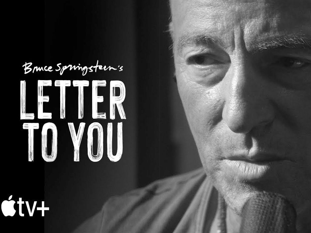 Bruce Springsteen's Letter To You Quad Poster