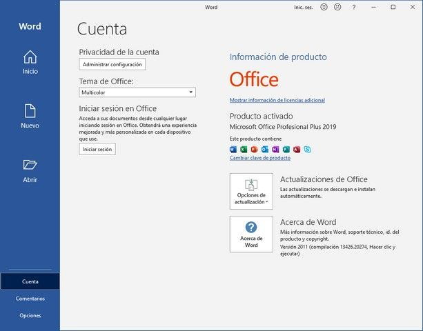 Microsoft Office 2019 Pro 2021