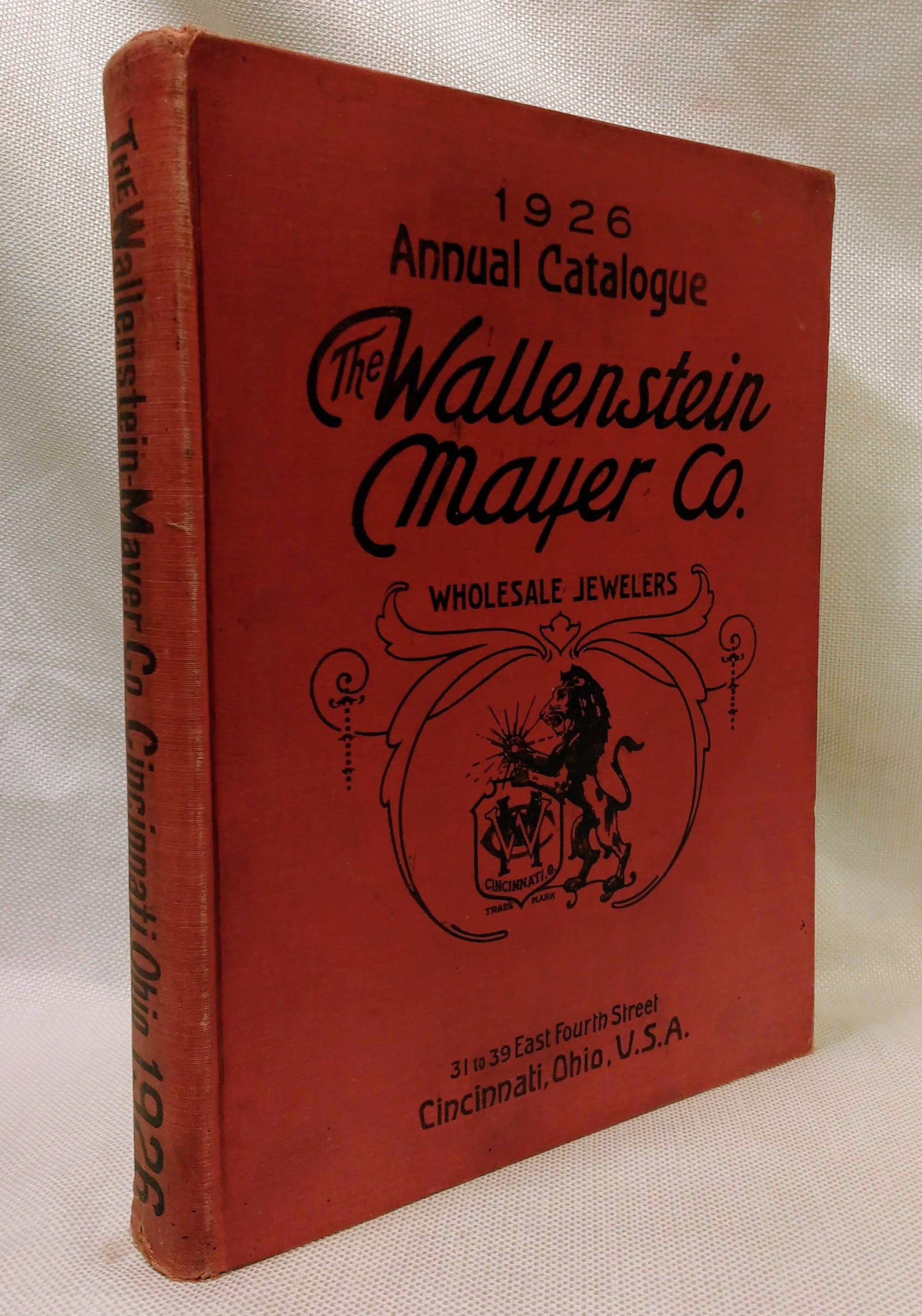 Wallenstein, Mayer & Co 1926 Annual Catalog (Wholesale Jewelers), Staff, Wallenstein, Mayer & Co