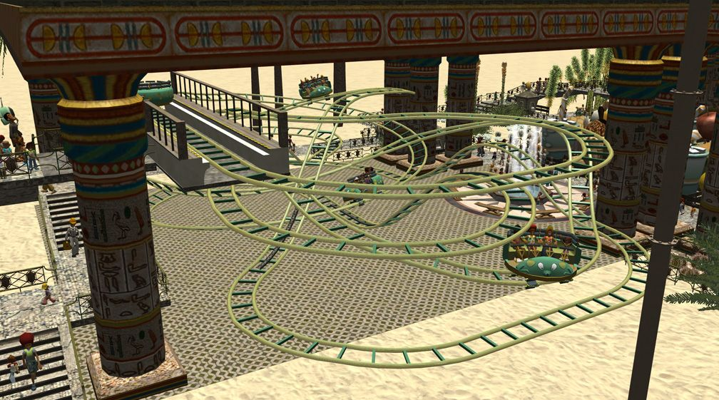 Demo Screenshot Image 02, My Downloads - Coasters, Rides, & Attractions - Coaster: Zamperla Mini