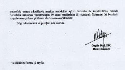 BDDK yetki yazısı 2.sayfa