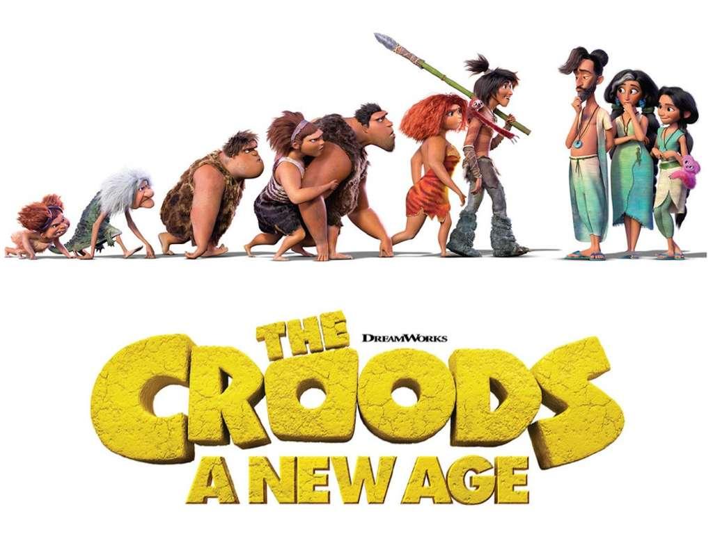 Οι Κρουντς 2: Νέα Εποχή (The Croods: A New Age) Quad Poster