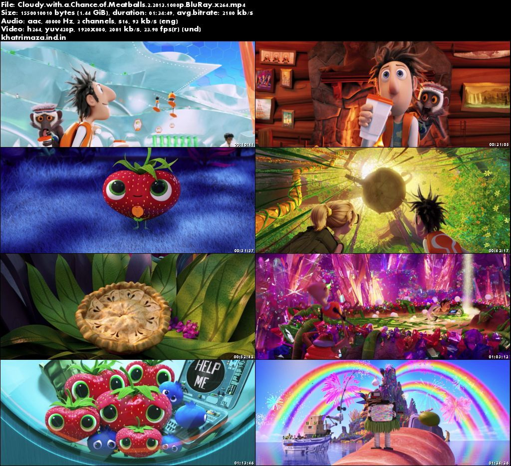 Cloudy with a Chance of Meatballs 2 2013 Hollywood Movie Download Screenshot