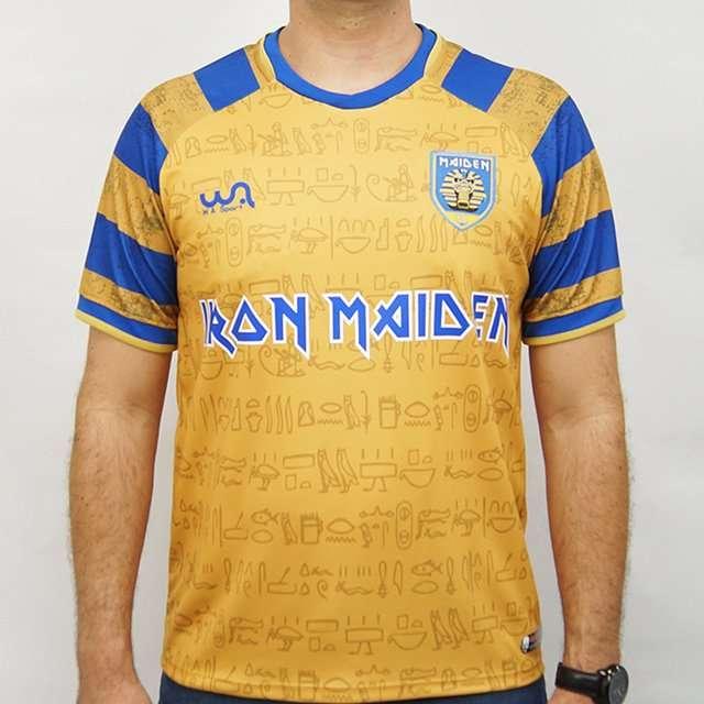 iron maiden lancamento camisetas de futebol brasil