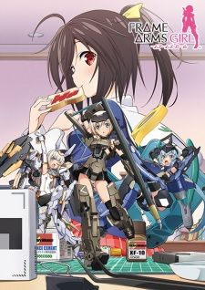 Frame Arms Girl's Cover Image
