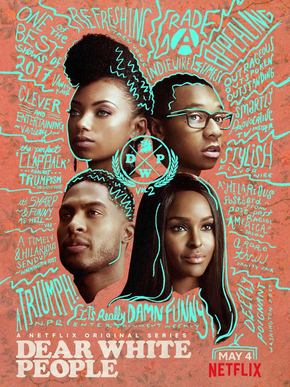 Dear White People - Saison 2 [COMPLETE] [10/10] FRENCH | Qualité Webrip