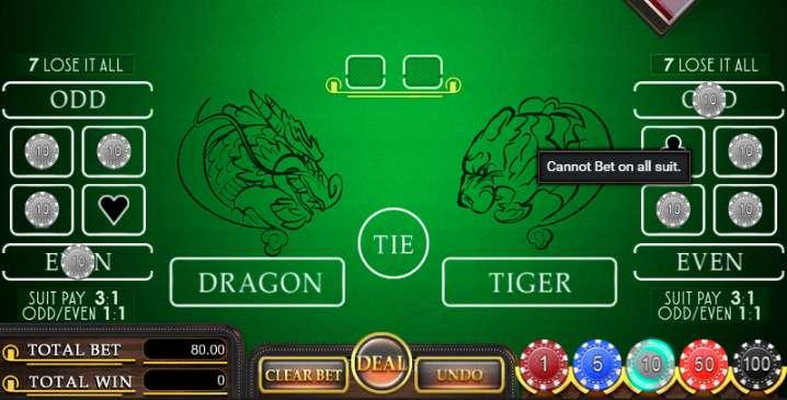 cara bermain dragon tiger online