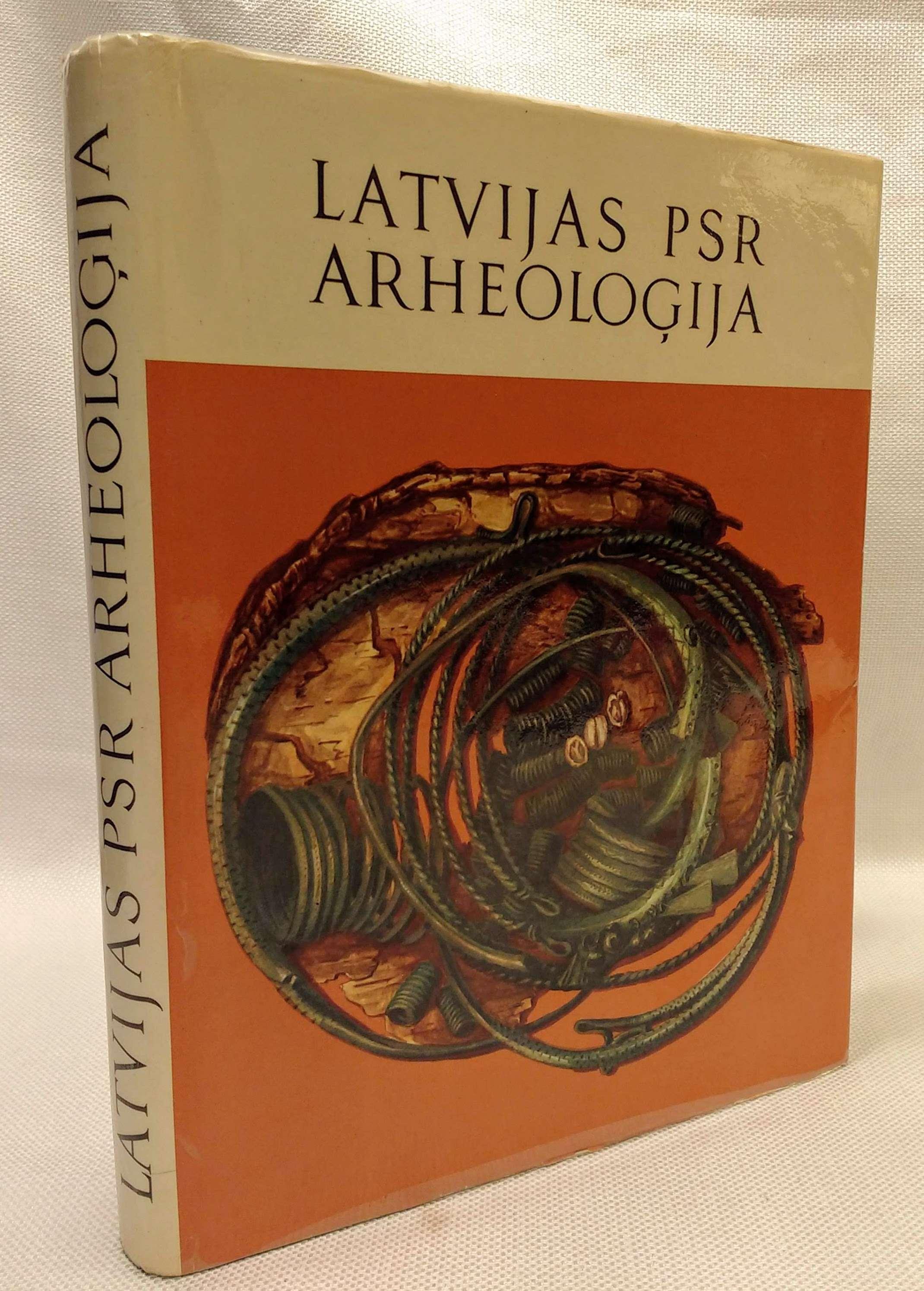 Latvijas PSR Arheologija, Apals, J., et. al.