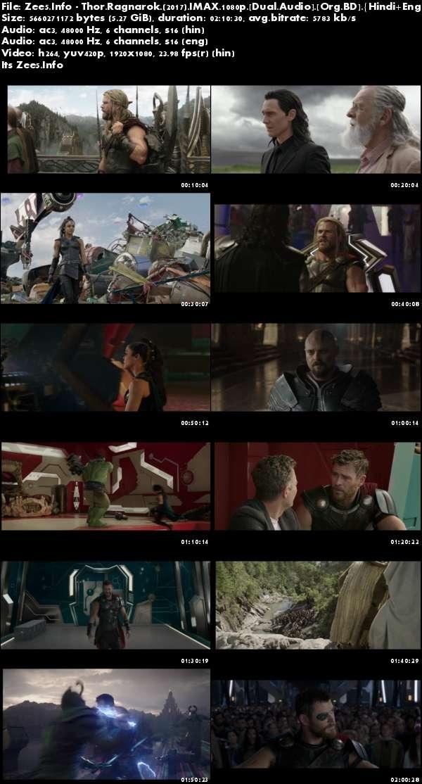 Thor Ragnarok 2017 IMAX 1080p Dual Audio Hindi English Download