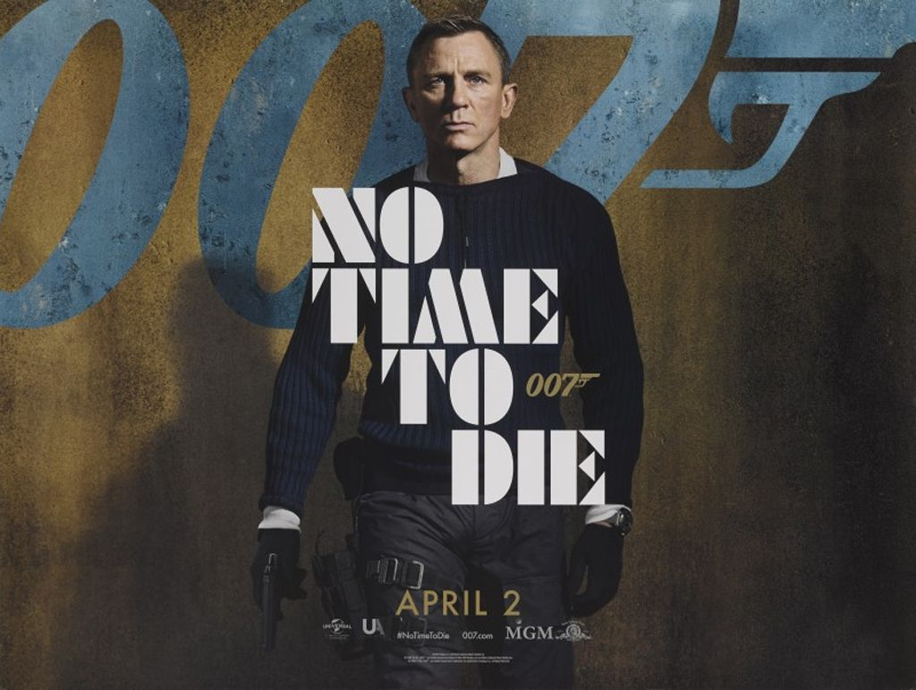 No Time To Die Quad Poster