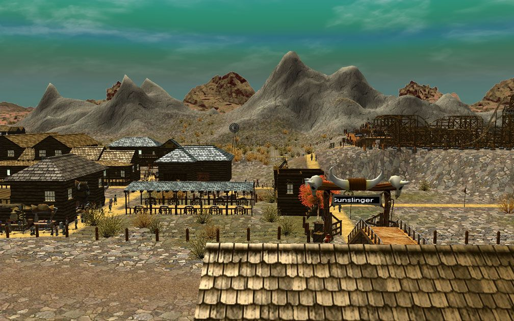 Lead Image for FlightToAtlantis.net: RCT3 FAQ: Campaign Scenario Directory Specifics: Gunslinger