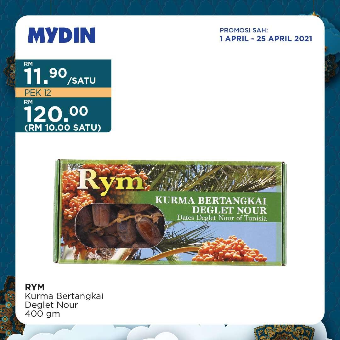Mydin Catalogue(1 April 2021 - 25 April 2021)