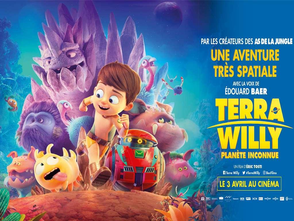 Ο Πλανήτης του Γουίλι (Terra Willy: Planète Inconnue) Poster Πόστερ Wallpaper
