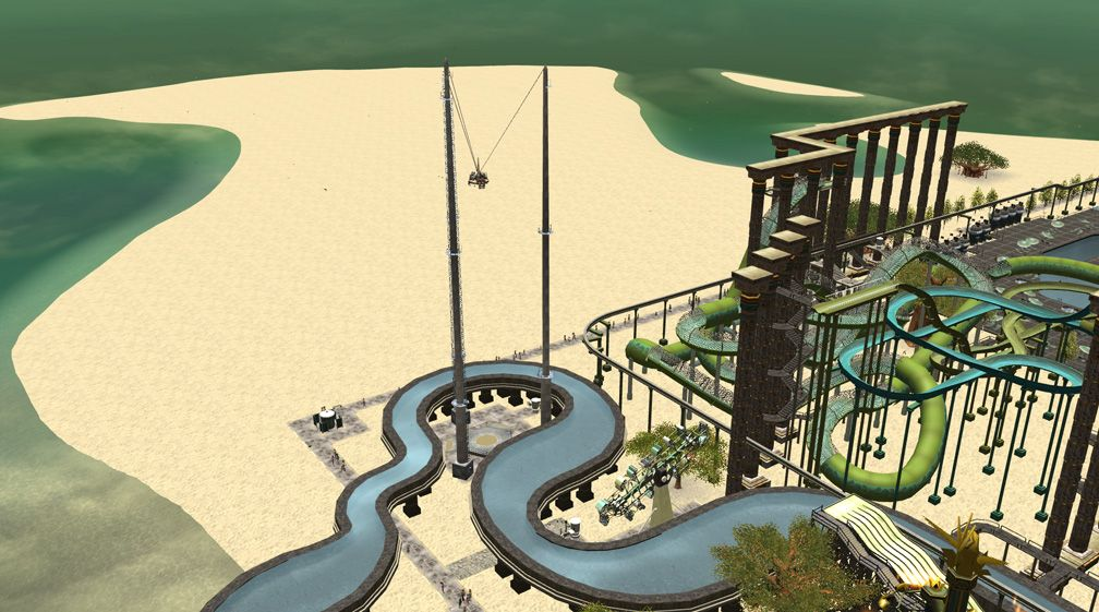 Image 02 - Parks, Scenarios, & Sandboxes - Scenario: Water World Resort