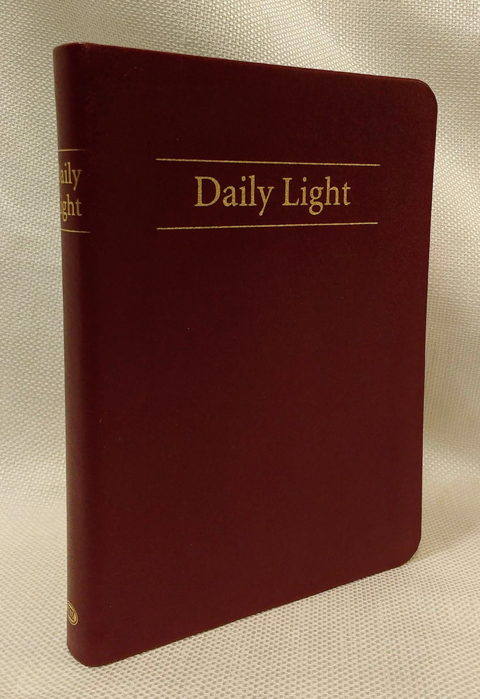 Daily Light (Red Leather Edition)