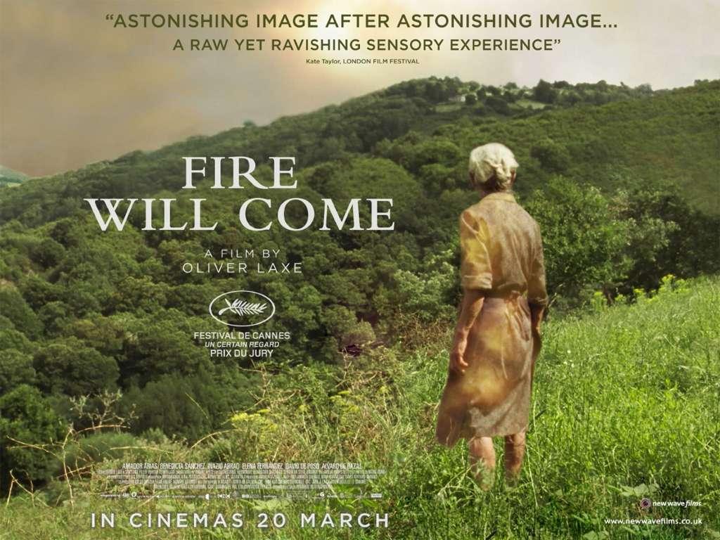 Θα Έρθει Φωτιά (O Que Arde / Fire Will Come) Quad Poster