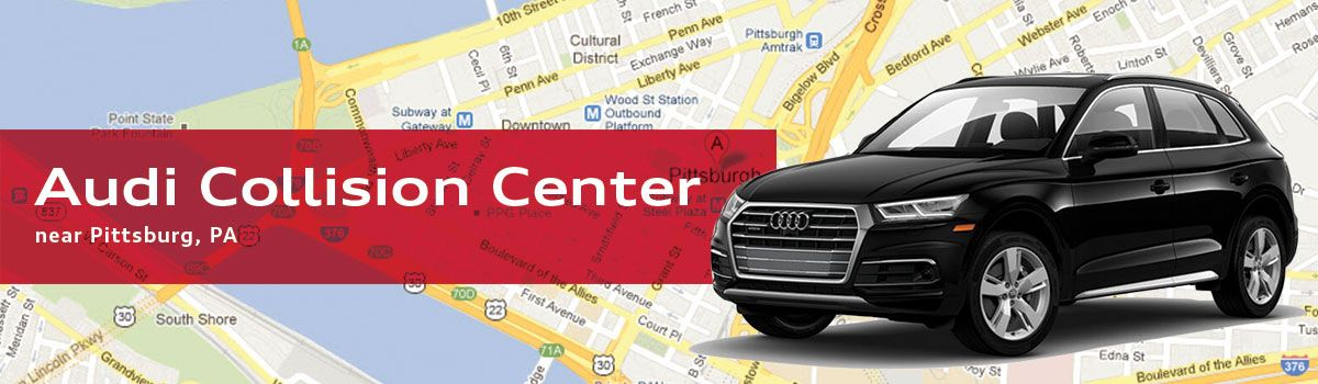 Audi Collision Center in Sewickley