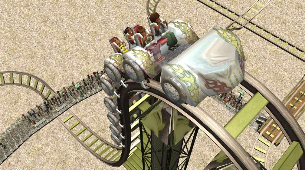 Demo Screenshot Image 04, My Downloads - Coasters, Rides, & Attractions - Coaster: Coeur de Force