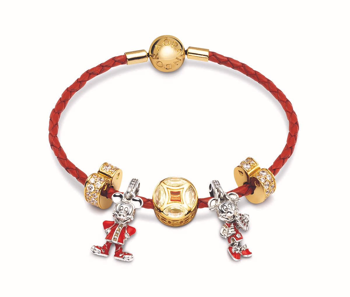 Pandora Chinese New Year 2020 Mickey Minnie Mouse