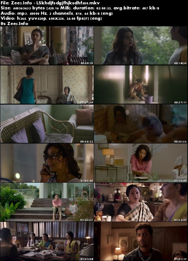 Lust Stories 2018 Hindi 480p HDRip 400MB