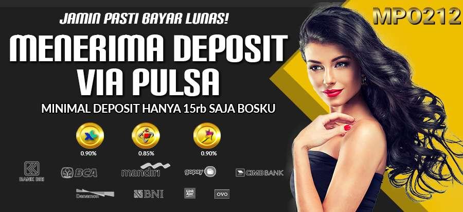 Deposit pulsa | MPO212