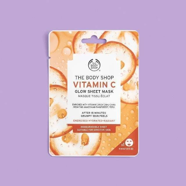 Dolphin Skin The Body Shop Vitamin C Glow Sheet Mask