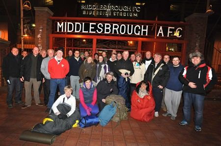 Sleep Out at Riverside