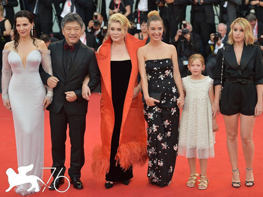 La vérité (The Truth) Venice Film Festival 2019