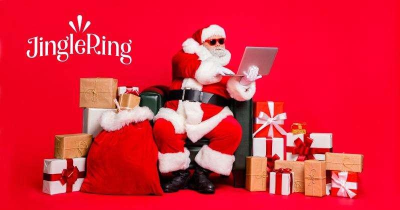 JingleRing Santa